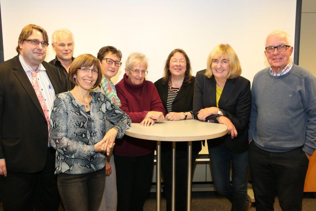 Der Vorstand des Freundeskreises (Oktober 2016)