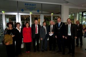 Verleihung des Ehrenrings an den Bürgermeister von Ness Ziona anläßlich des 25. jährigem Bestehens der Städtepartnerschaft